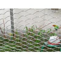 China Smooth Surface Stainless Steel Woven Mesh , Knotted Woven Stainless Steel Cloth on sale