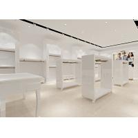 Quality Retail Store Furniture / Children'S Store Fixtures White Lacquer Finished for sale