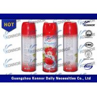 China Multi - color Auto Air Freshener Spray with strawberry , rose Fragrance wholesale