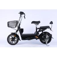 China OEM 350 Watt 48v Black Electric Dirt Bike With CE Passed And 14 Inch Wheel on sale