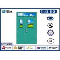 China 1.5 Hr Insulated Fire Door Hold Open , Steel Fire Door Without Welding Point on sale