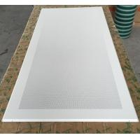 China Perforated Aluminum / Metal Soundproof Ceiling Panels , Fire Resistant Ceiling Tiles Dia 1.8mm wholesale