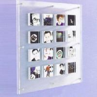 China 30''Wall Mounted Multiple Acrylic Photo Frames With 9 compartment wholesale