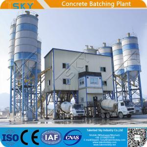 China High Efficiency 240m3/H Concrete Batching Plant wholesale