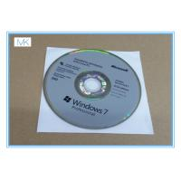 Quality Microsoft Windows Software Windows 7 Pro 64 Bit Full Retail Version DVD Sofware With COA 100% Activation for sale