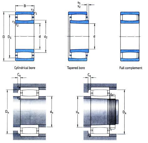 carb toroidal roller bearings c3148
