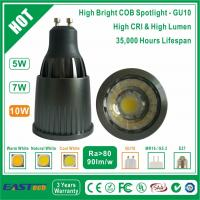 Buy cheap 10W GU10 COB Spotlight (High Bright) - Cool White from wholesalers