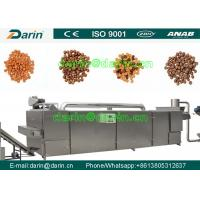 China Durable dog food machinery  , fish feed extruder machine Stainless Steel wholesale