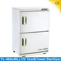 China 2 layer UV tool sterilizer , Towel Warmer Sterilizer For Beauty Salon YL-46A wholesale