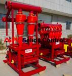 China APCS Desander separator used in well drillings mud circulation system at Aipu wholesale