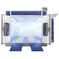 China 12KW 220V Infrared Down Draft Car Spray Booth For Motorcycle , Automotive wholesale
