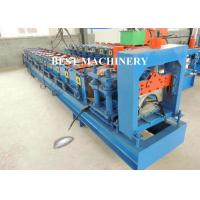 China Metal Roof Ridge Cap Roll Forming Machine / Corrugated Roof Sheet wholesale