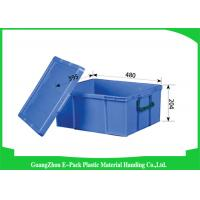 Quality Logistics Virgin PP Stackable Plastic Containers , Standard Industrial Storage Bins for sale