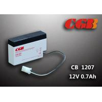 China 12 Volt 0.8Ah CB1207 Valve Regulated Lead Acid Battery For Electric Equipment wholesale
