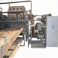 China Paper Egg Tray / Fruit Tray Making Machine With Aluminum Molds High Speed wholesale