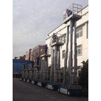 China 6m Aluminum Self Propelled Vertical Mast Lift Hydraulic Ladder For With 480KG Capacity wholesale