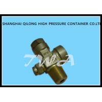 China Safety Adjustable Pressure Relief Valve For O2 Gas Cylinder on sale
