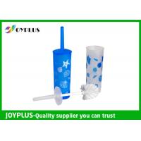 China Plastic Bathroom Cleaning Items Round Toilet Brush Easy Cleaning HT1065 wholesale