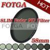 China 58mm Fotga Digital SLR Camera Variable Neutral Density Fader ND Filter ND2 to ND400 wholesale