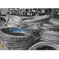 China Cold Rolled TP 347 / 347H 9.53mm Coiled Stainless Tube Seamless Stainless Steel Pipe wholesale