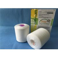 China 40/2 TFO / Ring Spun Polyester Yarn / Sewing Machine Yarn With Plastic Cone wholesale