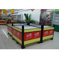 China Knockdown Metallic Supermarket Promotion  Display Table / Advertising Promotion Counter wholesale