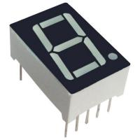 Quality Common Anode 7 Segment Display / 25.4mm Seven Segment Display PCB Mounting for sale