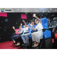 China Huge Screen 4D Cinema System Movement Chair Fog Effects 100 Seats wholesale
