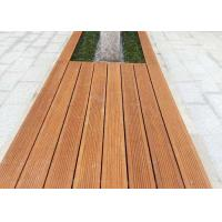 Quality Durable Green Material Bamboo Park Bench Modern Appearance Customized Size for sale