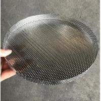 China 304 Stainless Steel Perforated Filter Mesh Tray Polishing Treatment wholesale
