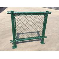 China PVC Chain Link Fence for Tennis Soccer Field Court Yard and Garden wholesale