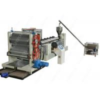 China Waterproof Drainage Board Production Machine Line With Dimpled Plastic Sheet wholesale
