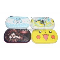 Quality Portable Game Carrying Case PU Surface For Travel , Color Customized for sale