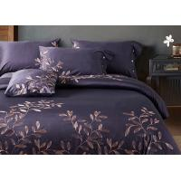 China Leaf Pattern Beautiful Bedding Sets 4Pcs , 100 Percent Cotton Bedding Sets wholesale