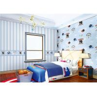 China Waterproof Cute Bedroom Wallpaper Non - Pasted For Boy , Eco Friendly wholesale