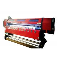 China Flex Banner Double Head Large Format Digital Printing Machine 126 Inch Wide Format wholesale