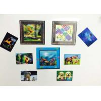 China Custom Shaped PP / PET Lenticular 3D Fridge Magnets With Lenticular Printing wholesale