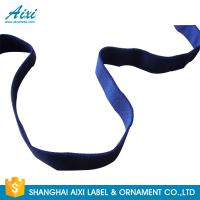 China Decorative Coloured Fold Over Elastic Webbing Straps For Underwear wholesale