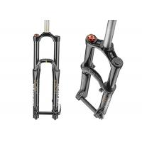 China Enduro / Freeride Coil Suspension Fork , Hard Anodized Mountain Bike Suspension Forks wholesale