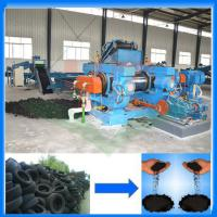 China Advanced used tire recycling machine/tyre recycle crumb rubber plant/rubber breaker wholesale