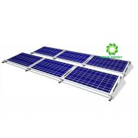 China Ballasted Aluminium Solar Panel Mounting System / Flat Roof Mounting System wholesale