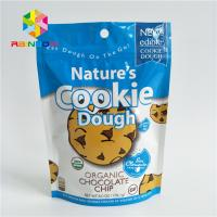 China Reusable Stand Up Bags Customized Printing Tear Notches For Cookie on sale