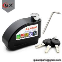 China Scooter/Motorcycle Anti-Thieft Alarm Disc Lock Wheel Brake Disc Lock wholesale