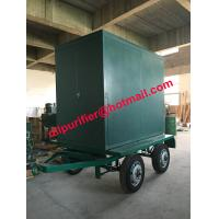 China Four Wheels trailer vacuum transformer oil cleaner, insulation oil filtration machine wholesale