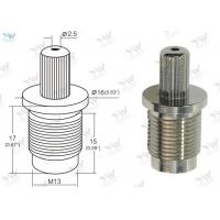 China Ø 2.5 Mm Steel Wire Cable Grips Cable Bottom Exit Brass Material Self Lock Gliders wholesale