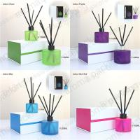 China hot sale design reed diffuser bottle with lid and gift box for sale wholesale
