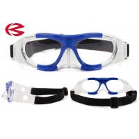 China Removable Silicone Durable Safety Basketball Protective Goggles OEM Strap wholesale