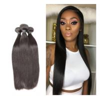 China Healthy And Thick End 100% Indian Remy Human Hair Weave Natural Color For Ladies wholesale