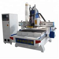 China Multifunction 3d Cnc Router Engraving Machines With Atc Router Spindle / Vacuum Table wholesale