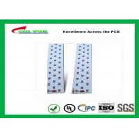 China Long LED Lights PCB , Aluminum PCB White Solder Mask High-frequency PCB wholesale